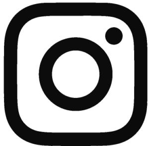 Logo instagram glowing words blog