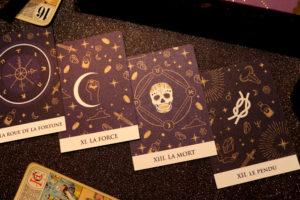 Cartes présentes dans la Beautiful Box by Aufeminin d'octobre 2018
