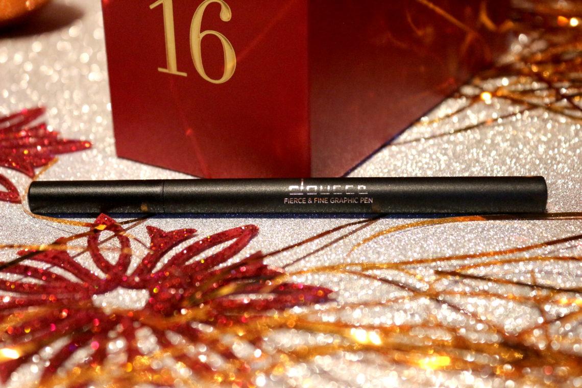 Eyeliner Fierce and Fine Eyeliner de la marque Doucce dans la case 16 du calendrier de l'avent Look Fantastic 2018