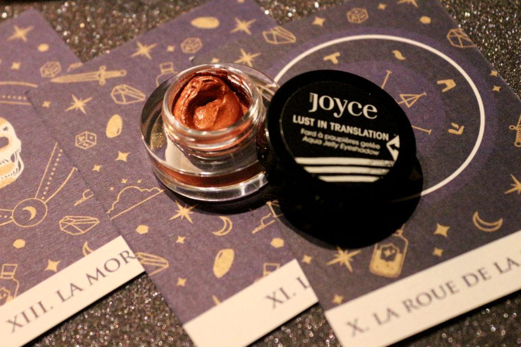 Fard en gelée Lust in Translation de la marque Joyce dans la Beautiful Box by Aufeminin d'octobre 2018