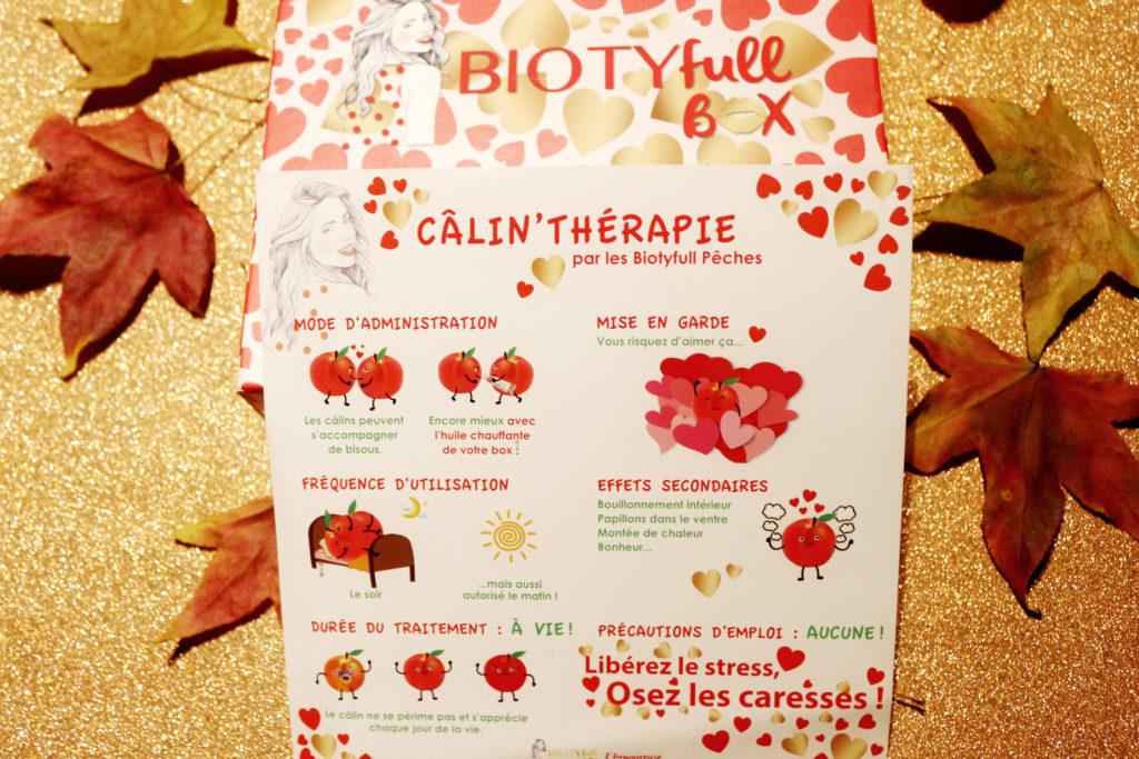 Flyer de la Biotyfull Box de Février 2018
