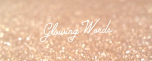 Logo du blog Glowing Words