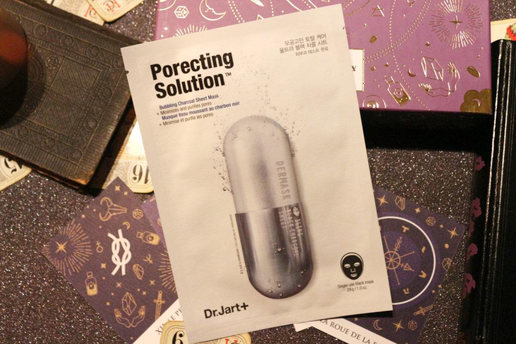 Masque Porecting Solution de Dr.Jart+ dans la Beautiful Box by Aufeminin d'octobre 2018
