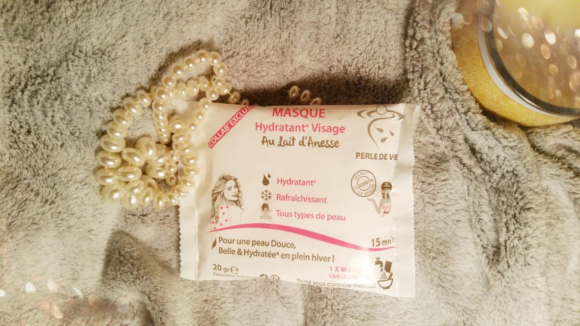 Masque au lait d'ânesse Perle de Vie