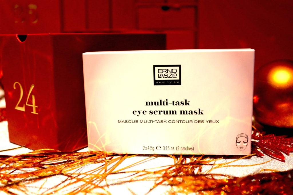 Masque pour les yeux Multi Task Eye Serum mask de la marque Erno Laszlo présent dans la case 24 du calendrier de l'avent Look Fantastic 2018