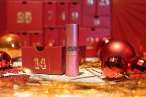 Rouge à lèvres de la marque Lipstick Queen en teinte Frog Prince dans la case 14 du calendrier de l'avent Look Fantastic 2018