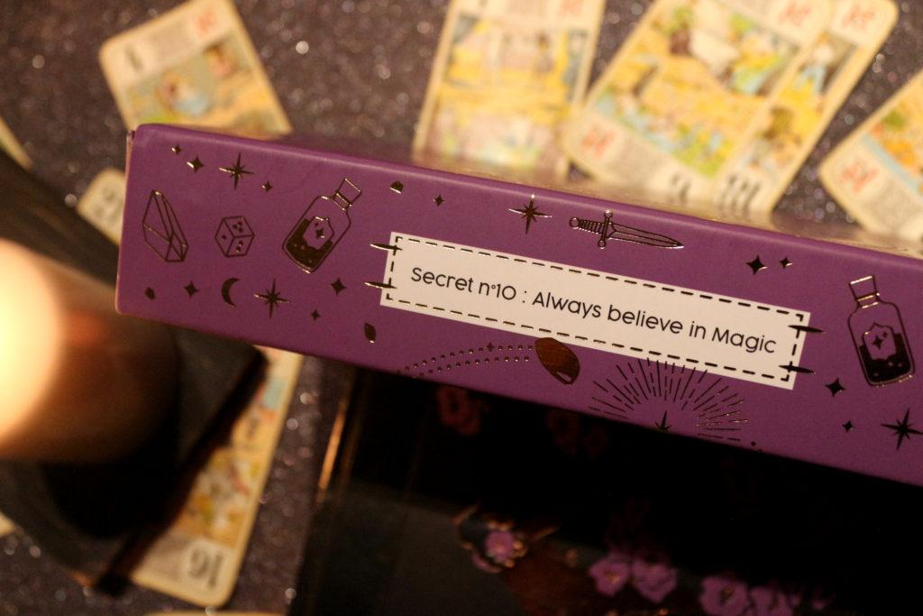 Secret de la Beautiful Box d'Octobre 2018
