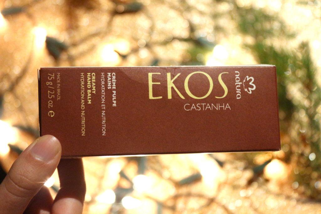 Crème mains Ekos Castanha de Natura Brasil