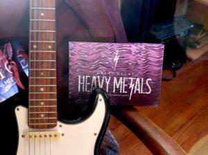 Palette Heavy Metals de Urban Decay dans son emballage carton