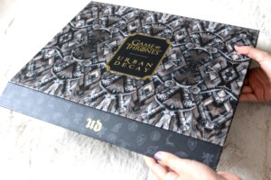 L'avant du vault Urban Decay et Game of Thrones