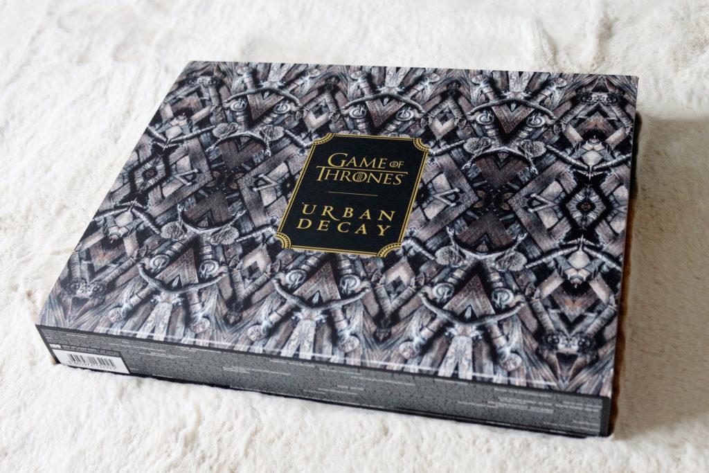 Le coffret de la collection Urban Decay et Game of Thrones