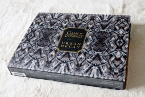Le coffret de la collection Urban Decay et Game of Thrones