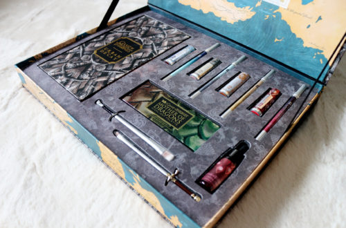 Vault contenant la collection Game of Thrones en collaboration avec Urban Decay