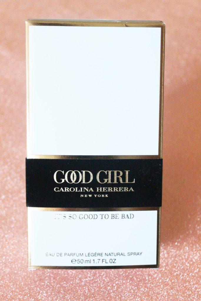 Boîte du parfum Good Girl Légère de Carolina Herrera