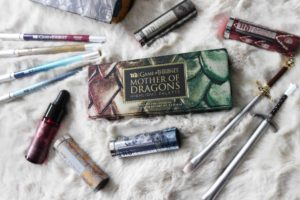 La collection de maquillage Game of Throne Urban Decay