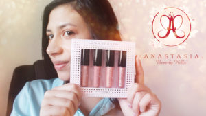 Swatches du mini lip gloss set spring 2020 de Anastasia Beverly Hills