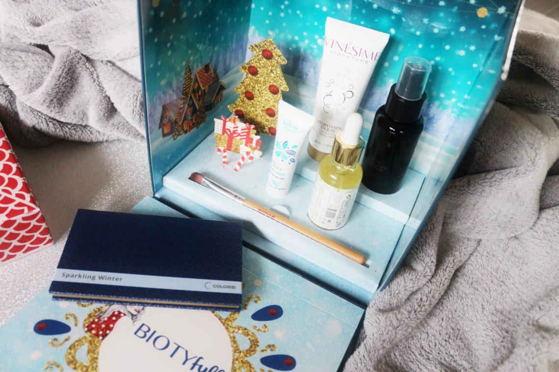 Contenu de la Biotyfull Box de décembre 2019