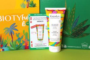 Gel douche gourmand Kadalys dans la Biotyfull Box d'août 2020