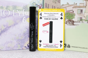 Mascara volume de la marque Pure By Valerie dans la Biotyfull Box de mai 2020